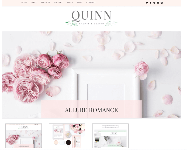 Quinn - Blog Theme - From Pennies to Pounds