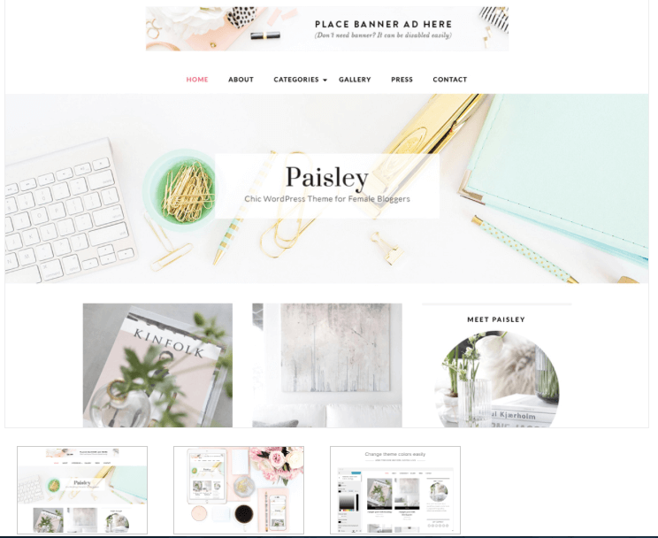 blog theme - from pennies to pounds