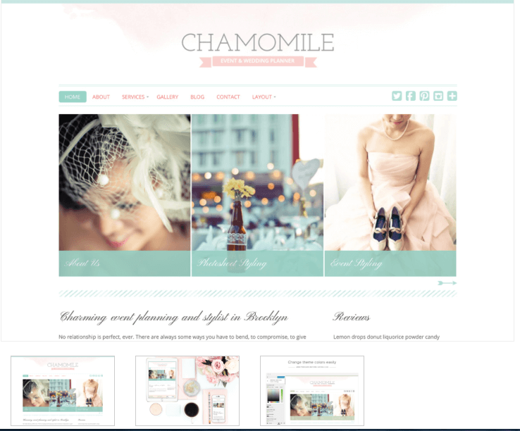 Chamomile blog theme - From Pennies to Pounds