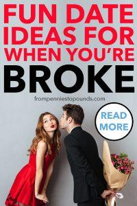 Cheap budget frugal date ideas