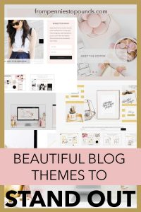 Feminine Blog Theme WordPress