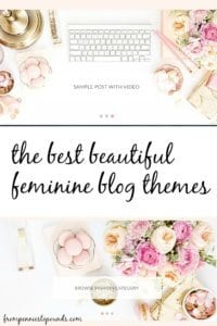 Feminine Blog Themes - From Pennies to Pounds