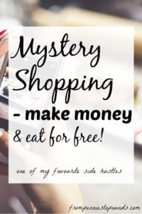 Mystery Shopping - From Pennies to Pounds