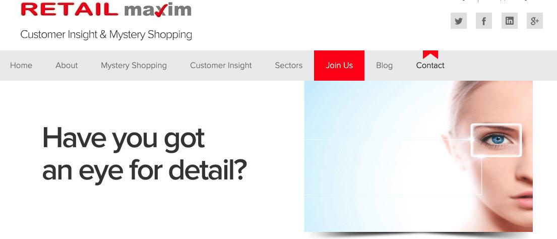 Retail Maxim customer insight and mystery shopping