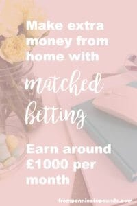 Matched Betting - make extra cash