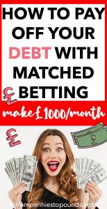 Matched betting introduction