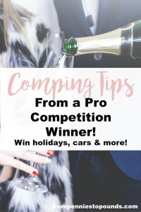 competition comping tips