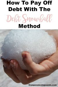 how to pay off debt with debt snowball method