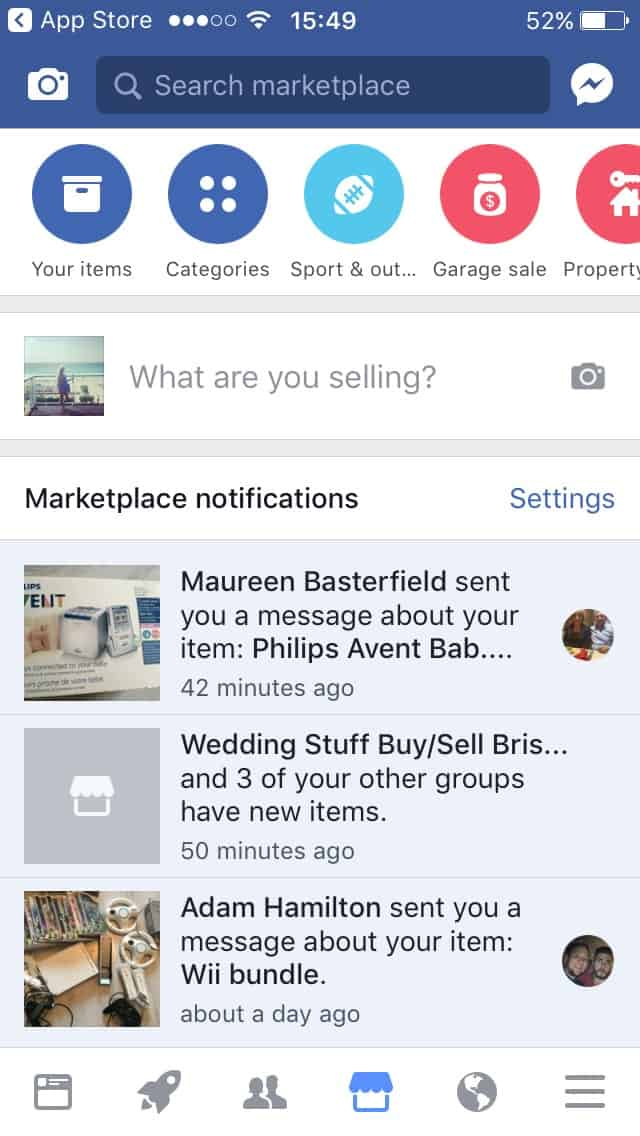 how to use Facebook marketplace to buy and sell
