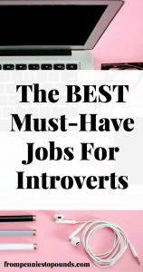 best must have jobs introverts
