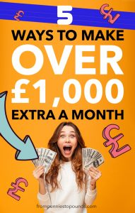 How to make an extra £1000 this month