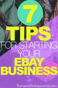 tips ebay reselling business