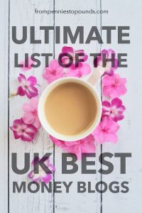 Ultimate list of the UK best money blogs